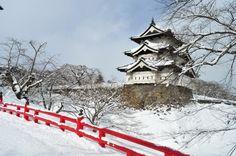Hirosaki Castle, Aomori.