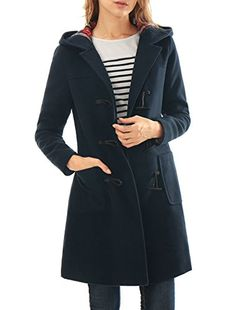 New Trending Outerwear: Allegra K Women Toggle Closure Hooded Patch Pockets Duffle Coat Blue L. Allegra K Women Toggle Closure Hooded Patch Pockets Duffle Coat Blue L  Special Offer: $30.07  466 Reviews • The hearty duffle coat gets a luxe do-over in a modern long sleeves silhouette, styled with patch pockets and a trio of toggles closing the front. • Body size chart shows...