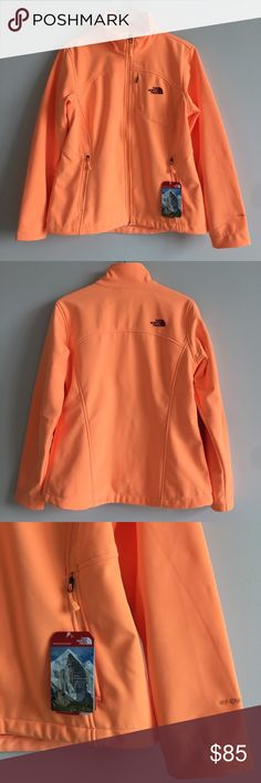 The North Face Apex Bionic Jacket 🌷Please Read the description! Thanks!🌷  Brand new with tag Size: L Retail: $149 Color: impact orange Color may be slightly  different bcz of lighting  🌷Price is FIRM unless bundled 🌷NO Trades         🌷NO Holds 🌷All sales are final The North Face Jackets & Coats