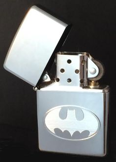 Zippo High Polish Chrome Finish Batman Lighter