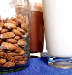 make your own almond or cashew milk