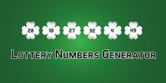 Lottery Numbers Generator on @codegrape. More Info: https://www.codegrape.com/item/lottery-numbers-generator/18615