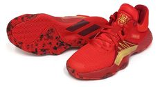 adidas D.O.N. Issue #1 Men's Basketball Shoes Casual Red Bounce NWT EG0490 #adidas #BasketballShoes
