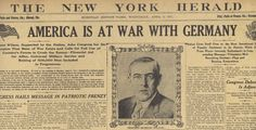 1917: America Is at War With Germany