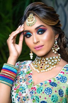 """""""If the fair is lovely, then dusky is divine! Exotic, Olive, Sun-kissed, tanned whatever name you call it, the dusky skin has garnered worldwide admiration. When it comes to dusky skin tone makeup, there are multiple misconceptions. From the right foundation shade to lip shade for dusky skin tone women, here are 6 Essential Bridal Makeup Tips for Dusky Skin. """""""