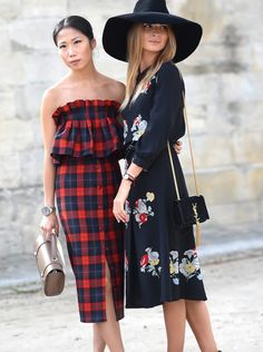 pretty girls in Paris. #PFW