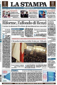 La Stampa - 28.01.2014 Italian | True PDF | 64 Pages | 14 MB