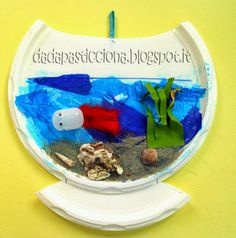 Dada clumsy: Loving this spin on a fish aquarium!
