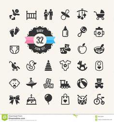 web-icon-set-baby-toys-feeding-care-35612594.jpg (1300×1390)