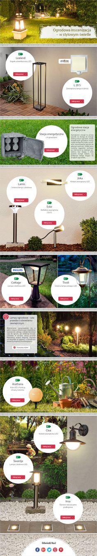Ogrodowa inscenizacja - w stylowym świetle - Lampy.pl