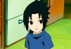 -Cute little Sasuke!- I wish he could stay like that! Now he is depressed! Is cute little curios face!  #CUTELITTLESASUKE