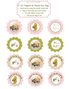 Hostess with the Mostess® - Classic Pooh Party Package for Baby Shower or Birthday