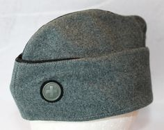 Vintage Swiss Army K31 Shooters Hat Wool by ilovevintagestuff