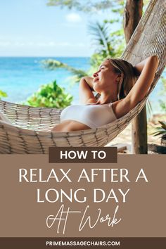 No matter where you work, how many hours you work -- there's a good chance you have days where you are super stressed after the work day ends. In this article, you will learn how you can relax after a long day at work. Click through to read the article now and live a stress-free life.