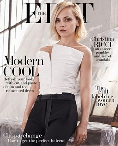 Christina Ricci for The Edit March 23, 2017