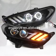 Dacia Duster Yellow 4-LED Xenon Bright Side Light Beam Bulbs Pair Upgrade
