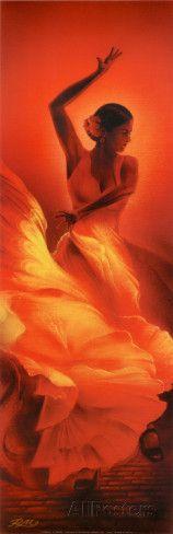 Flamenco Affiche