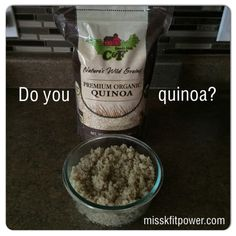 """Quinoa (pronounced """"keen-wah"""") is a superfood that packs a nutritional punch. Though it's often referred to as a grain, pure quinoa is actually a seed that's gluten free.    ~Quinoa is very high in fiber. ~Quinoa is loaded with protein and has all the essential amino acids, making it a """"complete"""" protein. ~Quinoa is high in minerals that many people don't get enough of like magnesium, potassium, zinc and iron. ~Quinoa is loaded with antioxidants that help fight disease."""