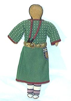 Great Old Plains Indian Doll
