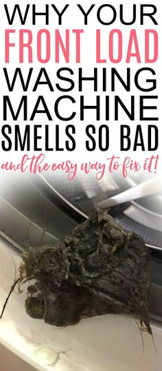 This is full of great tips for how to clean your front load washer. Plus the one EASIEST tip to keep it from smelling again! Get rid of the bad smell forever. Tips Front Load Washer Cleaning Deep Cleaning Tips, House Cleaning Tips, Cleaning Solutions, Spring Cleaning, Cleaning Hacks, Clean House Tips, Toilet Cleaning Tips, Household Cleaning Tips, Cleaning Products