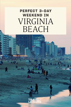 Travel + Leisure is exploring #America one three-day #weekend at a time. Next up: what to do on a short trip to #VirginiaBeach. #beachhack #beachday #roadtrip #summerbucketlist