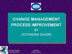 Learn why BPR is necessary for successful ERP implementation - Management change is a must before automation. No point in automating wrong or obsolete business process. Managers can unleash the real 'power' and immense capabilities of computers by challenging 'centuries–old' notions about work   Achieve dramatic improvements in performance - Find out the old rules and replace them with new rules - Study this ppt to understand business process re-engineering = BPR  - PPT for Education purpose…