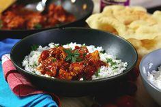Pui Tikka Masala – rețeta rapidă Chicken, Meat, Baking, Ethnic Recipes, Asia, Food, Bakken, Essen, Meals