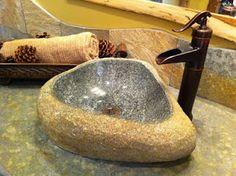 Rock vessel sink