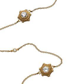 Ornate Station Long Necklace