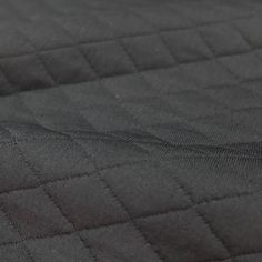 Quilted Jersey - Black