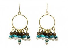 These hoop earrings are very flirty and chic! They would be a great gift to give for a birthday coming up. $55