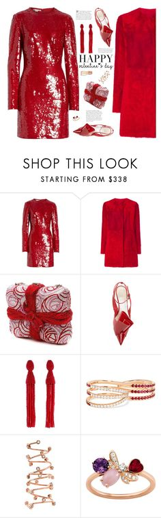 """Valentine's Day!"" by fashionbrownies ❤ liked on Polyvore featuring STELLA McCARTNEY, Drome, Judith Leiber, Oscar de la Renta, Melissa Kaye, Joanna Laura Constantine, Chaumet, StellaMcCartney, oscardelarenta and valentinesday"