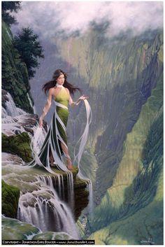 River Goddess - Jonathan Earl Bowser