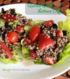 Quinoa Salad Lettuce