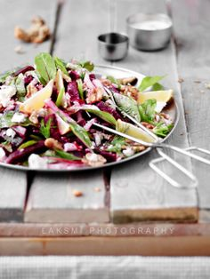 beetroot and walnut salad. #salad #cooking #food #vegetables #beets