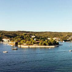 Illa Pinto, port de Maó