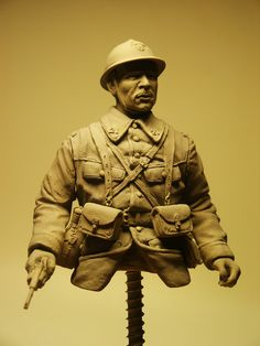 WIP - French Soldier Wwi 1/10 | planetFigure | Miniatures