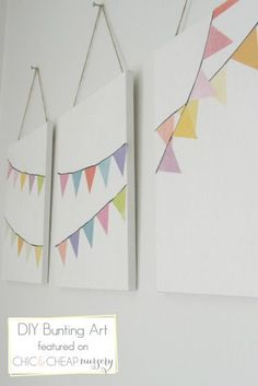 mommo design: DIY WALL DECOR canvas, marker and mod podge!
