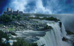 Fantasy Landscape by rainerpetterart on DeviantArt