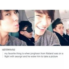 FtIsland and Big Bang: Pfft, Seungri you look like a drama queen. XD [K-pop]