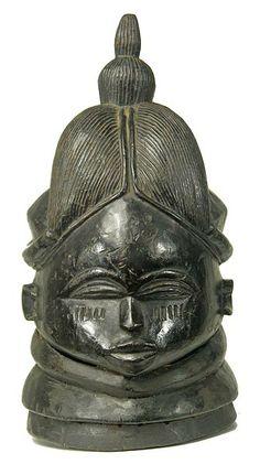 Bundu mask, Mende, Sierra Leone