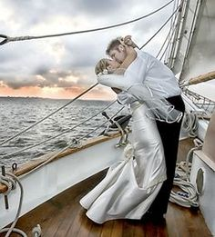 Get married on a tall ship? Yes please. #repost