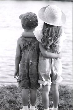 """""""Brother and Sister""""  My shot photography...I want to do this with M!! So sweet!!"""
