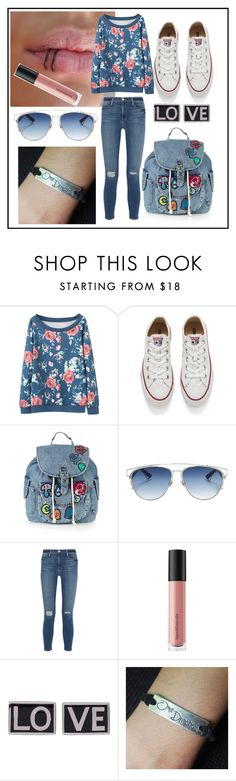"""Untitled #13"" by camila-632 ❤ liked on Polyvore featuring Converse, Topshop, Christian Dior, Frame Denim, Bare Escentuals and Givenchy"