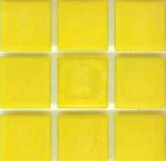 Brio Color Tulip Glass   Yellow Glass Mosaic Tile Nice Ideas