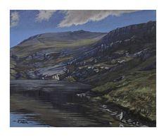 Elidir Fawr from Marchlyn Bach, Snowdonia National Park