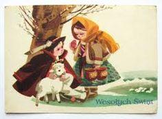 Znalezione obrazy dla zapytania pocztówki wielkanocne