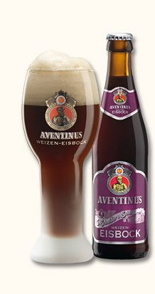 """Aventinus Eisbock """"Mahogany, nearly black Eisbock. The aroma reminds of ripe plums with a hint of bitter almonds and marzipan displaying strong characteristics of banana and clove. Beers Of The World, Wheat Beer, Profiteroles, German Beer, Marzipan, Mixed Drinks, Craft Beer, Brewery, Beer Bottle"""