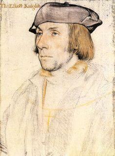 Portrait of Sir Thomas Elyot c. 1532–34 by Hans Holbein