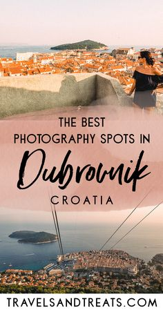The most Instagram-worthy places in Dubrovnik, Croatia. The best places to go in Dubrovnik for photos. via @travelsandtreats